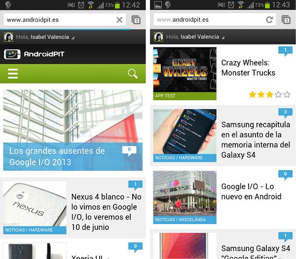 AndroidPIT diseno 2