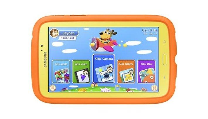 Galaxy Tab 3 Kids, tablet Samsung per bambini