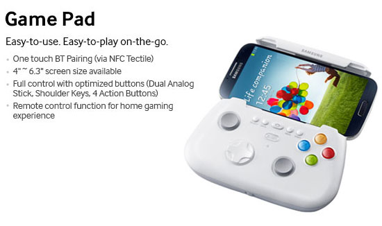 Gamepad Samsung Galaxy S4