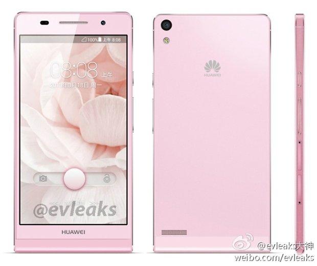HuaweiAscendP6 pink