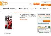 LG Optimus G Pro - Su silenciosa llegada a España