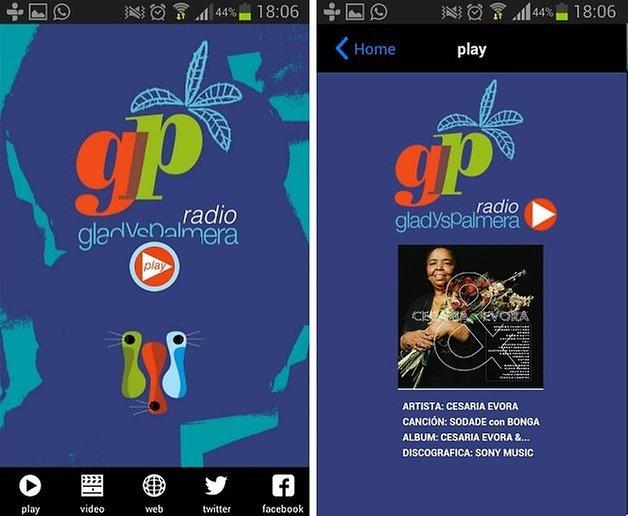 gladys palmera app