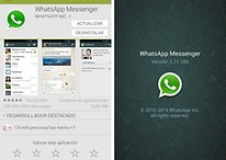 ¡La última actualización de WhatsApp llega a Google Play!