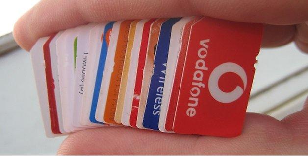 SIM tarjetas