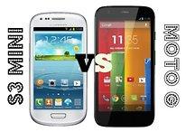 Galaxy S3 mini vs. Moto G - ¿Igualdad de precios y de calidad?