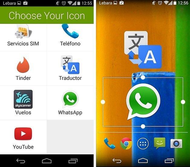 personalizar aplicaciones 4