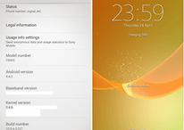 Imágenes del Sony Xperia Z con Android 4.4.2 KitKat