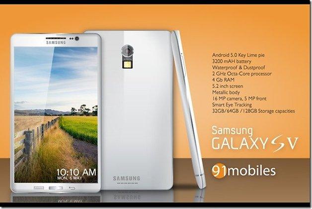 Galaxy S5 concepto1