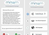 Minuum Keyboard 2.0 - Un teclado pequeño para dedos grandes
