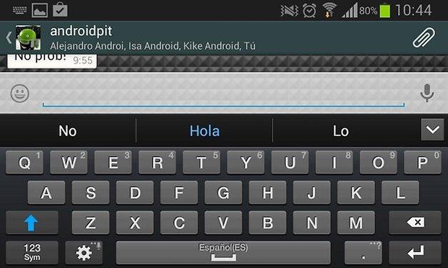 whatsapp teclado