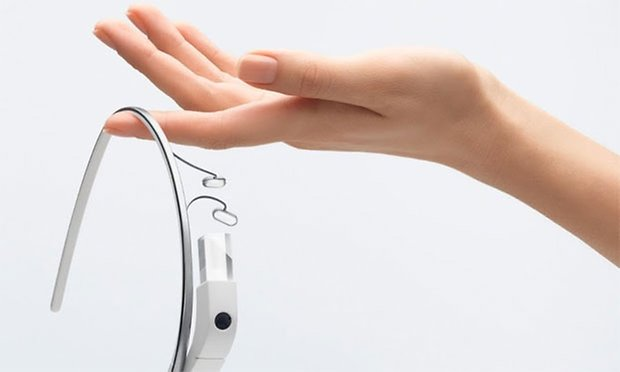 google glass hand
