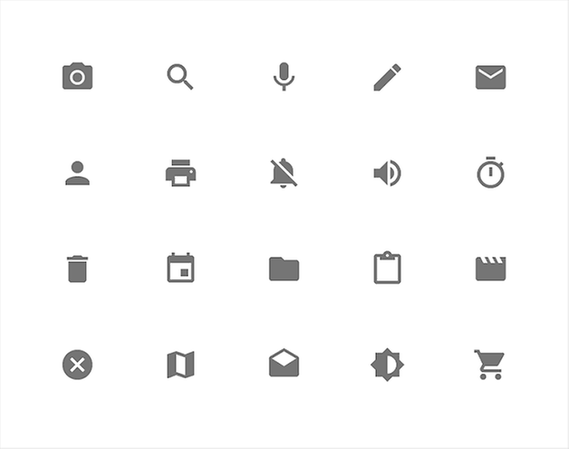 Iconos AndroidL