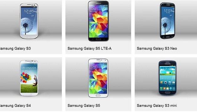 Los usuarios opinan: La mejor saga de Android es... ¡Samsung Galaxy!