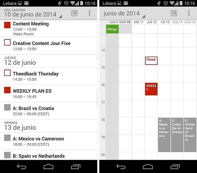 calendario mundial 2