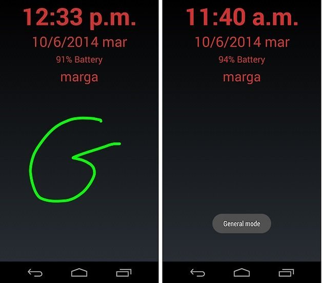 gestos bloqueo android 5