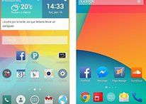 Optimus UI vs Stock Android - Comparamos la interfaz del LG G3