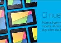Nexus 7 2013 con LTE llega a Google Play Store España