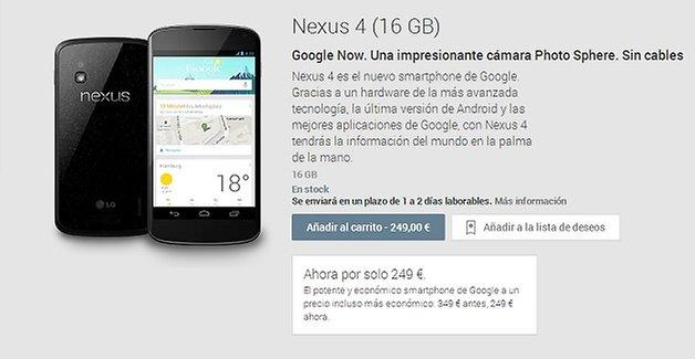 nexus4 rebaja