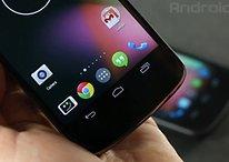 El lanzador de Android 4.4 vs Android 4.3 - Comparación en vídeo