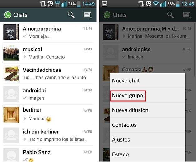 ¿Cómo crear, editar y salir de los grupos en WhatsApp