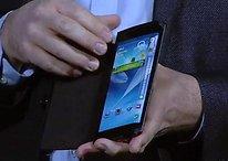 Samsung muestra su concepto de pantallas flexibles