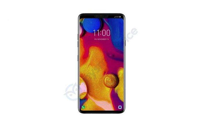 LG v40 thinq leak image mysmartprice 03