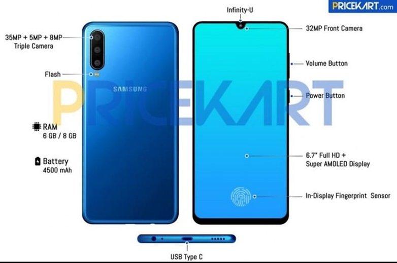 Samsung Galaxy A60 precio de fuga 01