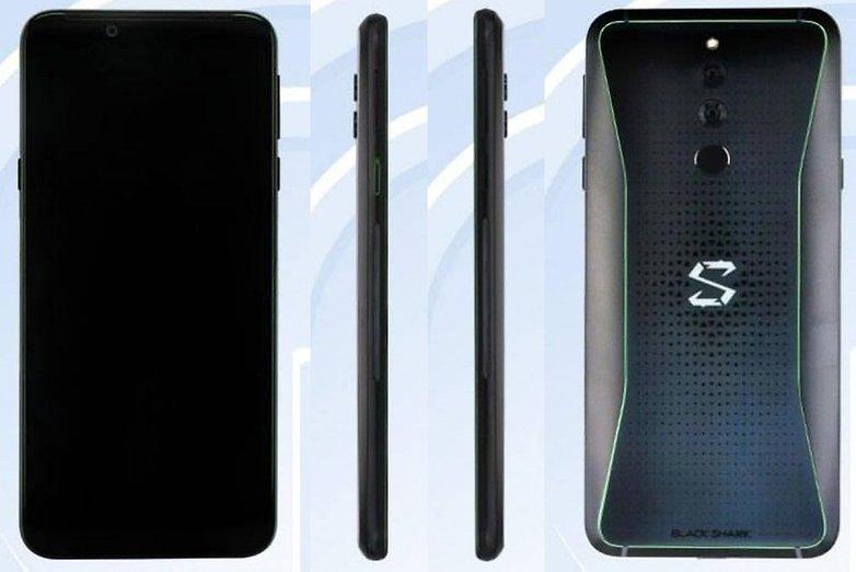 Xiaomi Black Shark 2 gaming phone tenaa 01