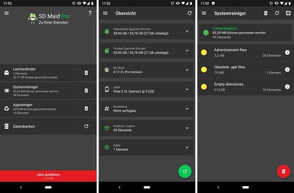Android im hintergrund laufende apps