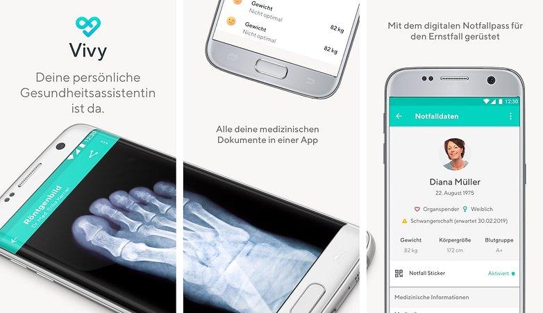 Vivy app digitale gesundheitskarte vivy 01