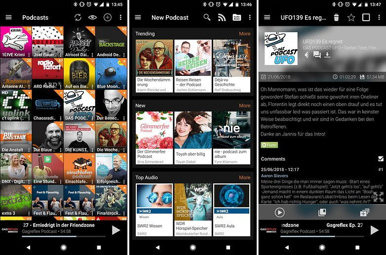 best podcast apps android podcast addict 01