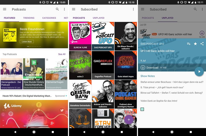 best podcast apps android podcast radio music castbox 01