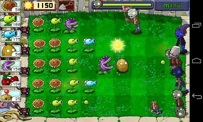 Игры серии Plants vs Zombies для Android