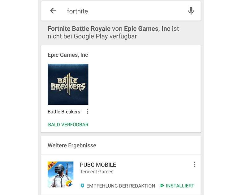 fortnite google play warning de androidpit 01