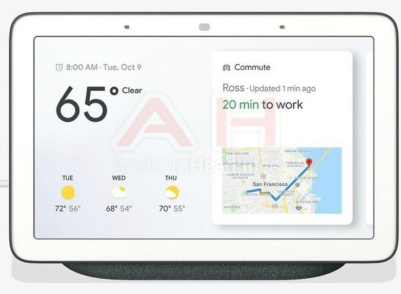 google home hub charcoal androidheadlines 01