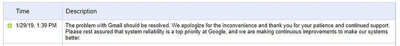 google gmail dashboard down tracker google 01