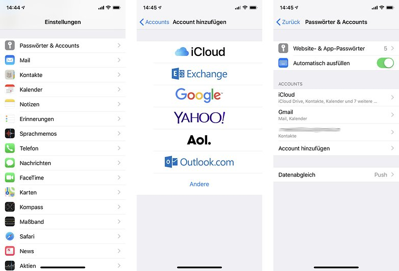 google kontakte auf iphone synchronisieren anleitung ap 01
