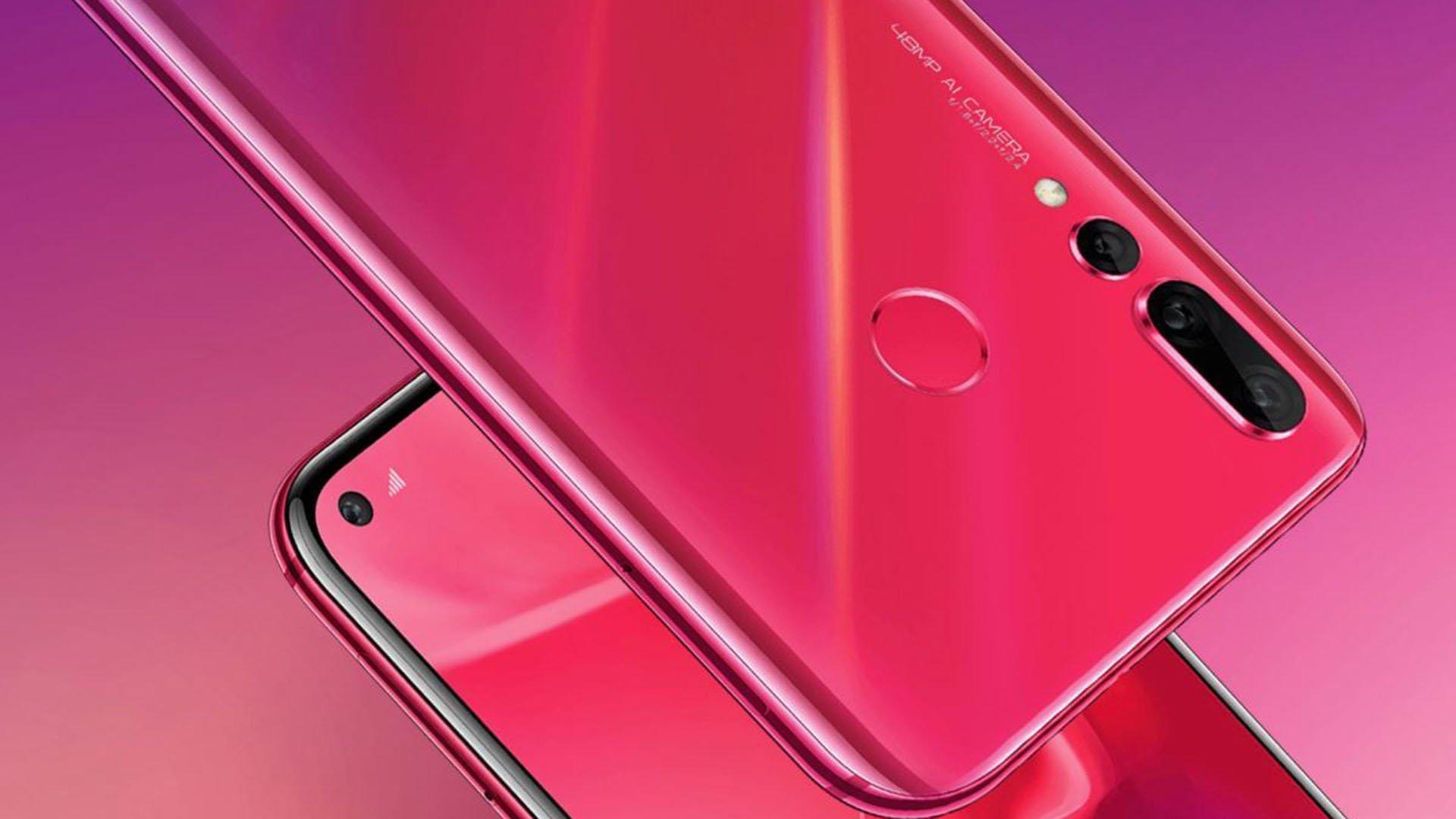 Huawei nova 4 ufficiale il nuovo smartphone con foro nel for Facebook logo ufficiale