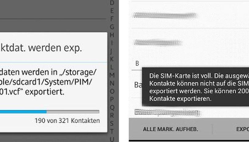Samsung Kontakte Auf Sim Karte übertragen.Kontakte Daten Und Mehr Vom Alten Aufs Neue Smartphone übertragen
