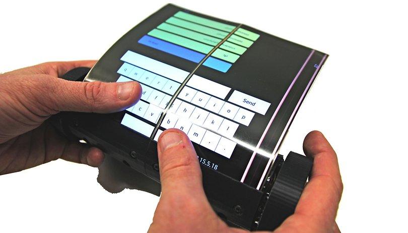 Blick in die Zukunft: Das Tablet von der Rolle