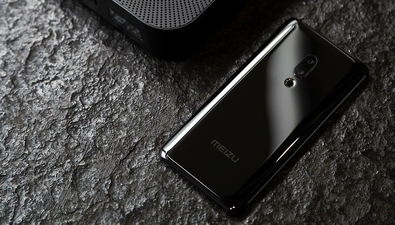 This Meizu Zero phone has no buttons or speaker openings