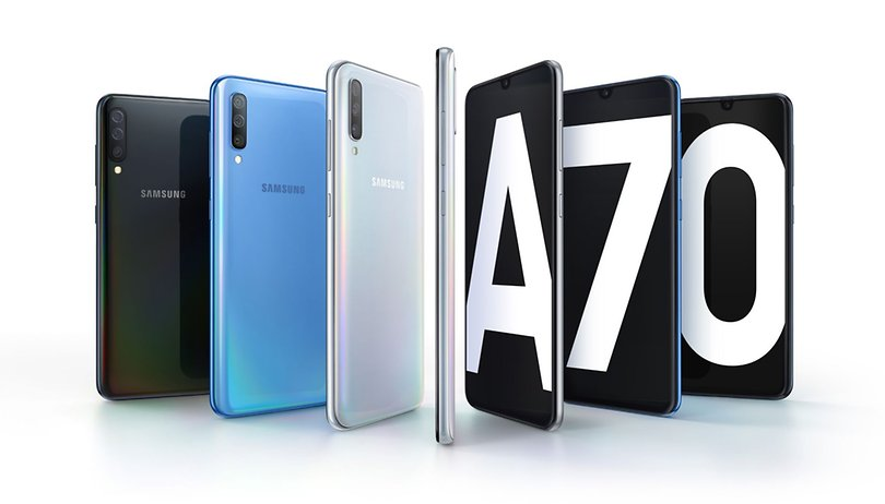 Samsung's Galaxy A70 is yet another XXL smartphone