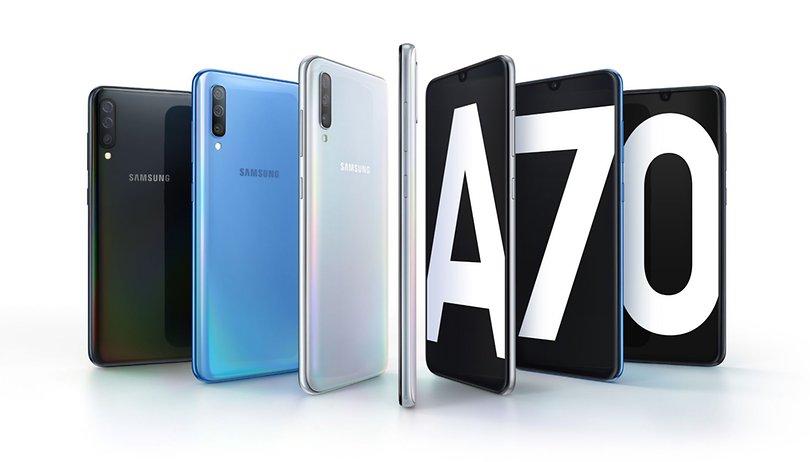 Galaxy A70:  otro smartphone XXL de Samsung