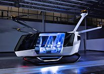 This futuristic flying taxi takes off with the help of hydrogen