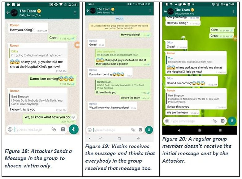 whatsapp fake message checkpoint 01