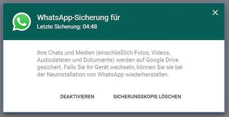whatsapp gogole drive save ap 02