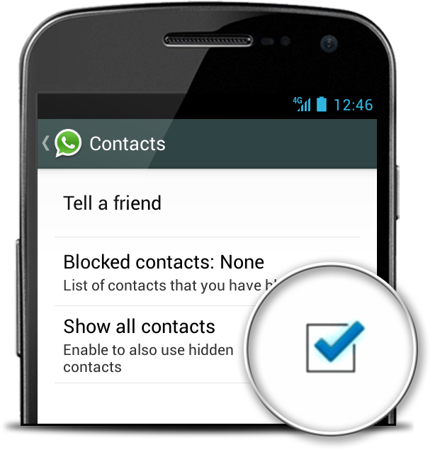 Why are my contacts not showing in WhatsApp? (How to fix