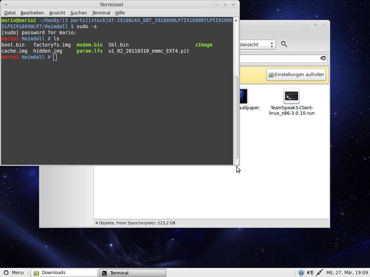 Flashen mit Linux (Heimdall) | AndroidPIT Forum