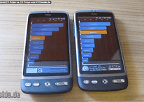 HTC Desire: 2.1 Éclair vs. 2.2 FroYo - Performance-Test