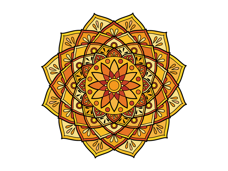 Mandala Coloring Pages For Adults Digital Adult Coloring